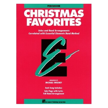 Essential Elements Christmas Favorites Percussion