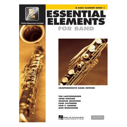 Essential Elements For Band Bk1 Bass Clarinet Eei