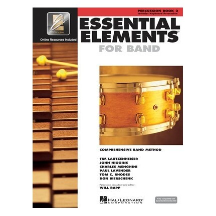 Essential Elements For Band Bk2 Percussion Eei