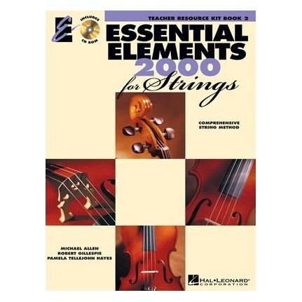 Essential Elements 2000 for Strings Teacher Resource Kit Book 2 with CD