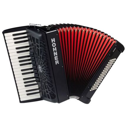 Hohner A16422 Bravo III 80 Bass Chromatic Accordion