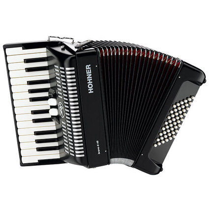 Hohner A1652 Bravo II 48 Bass Chromatic Accordion