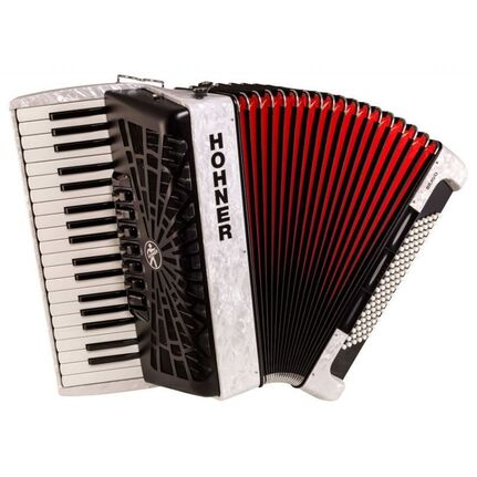 Hohner A16712 Bravo III 96 Bass Chromatic Accordion