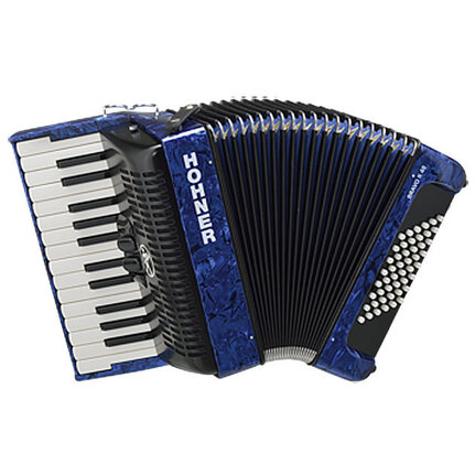 Hohner Bravo II 48 Bass Chromatic Accordion