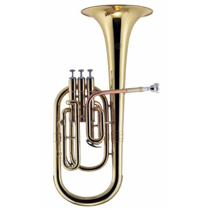 J.Michael AH500 Alto Horn (Eb) Clear Lacquer Finish