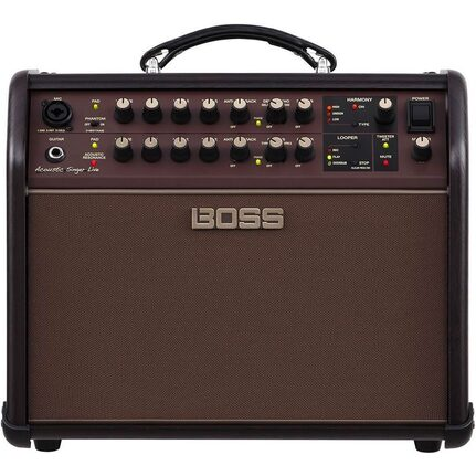 Boss Acoustic Singer Live Acoustic Guitar & Vocal Amp 60-Watt