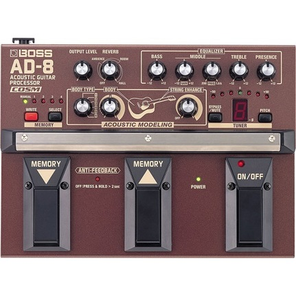 Boss AD8 Acoustic Guitar Processor Pedal