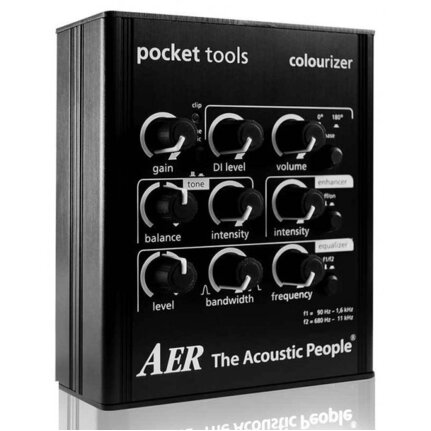 AER Colourizer Pocket Tool Preamp/Direct Box For Line & Mic Input