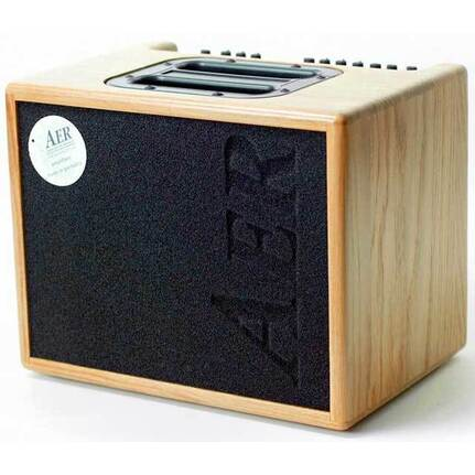 AER Compact 60 Watt Acoustic Instrument Amplifier In Natural Oak Finish