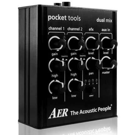 AER Dual Mix Pocket Tool Two Channel Preamp With Effects