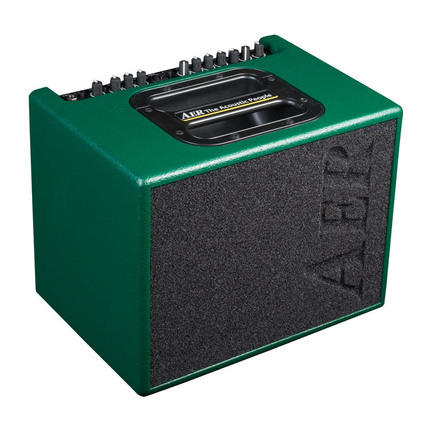 AER Compact 60 Acoustic Instrument Amplifier in British Racing Green Spatter (60 Watt)