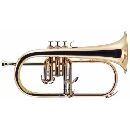 J.Michael FG500 Flugel Horn (Bb) Clear Lacquer Finish