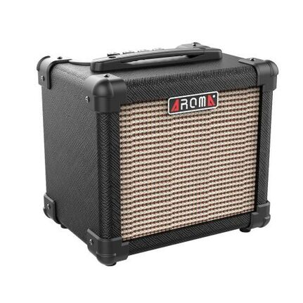 Aroma AG10BK 10W Black Electric Guitar Portable Amplifier