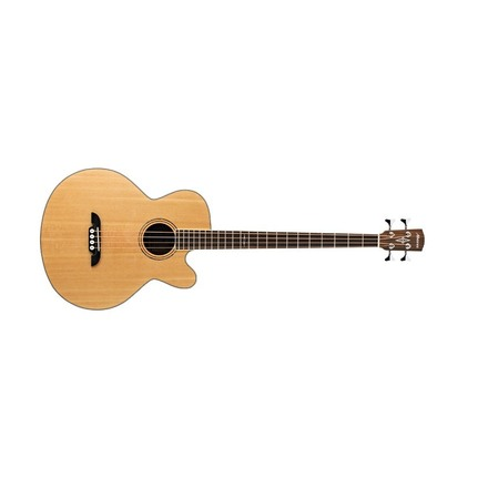 Alvarez Ab60Ce Acoustic-Electric Bass Guitar With Pickup