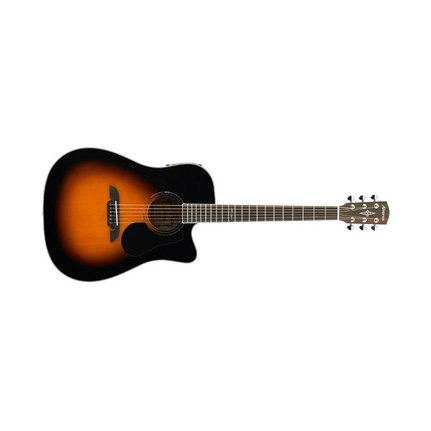 Alvarez Dreadnought Acoustic-Electric Guitar Ad60Cesb With Pickup