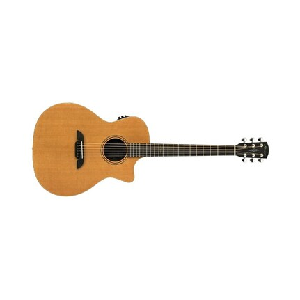 Alvarez Grand Auditorium Acoustic-Electric Guitar Mg75Ce With Pickup