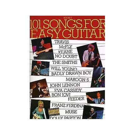 101 Songs for Easy Guitar Guitar Book 5