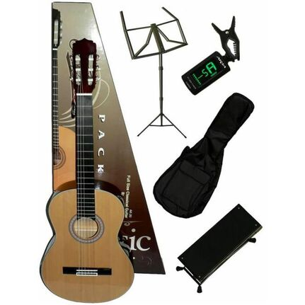 Aria ARCGPN002N Classical Guitar Package