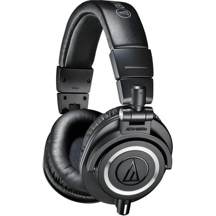 Audio Technica ATH-M50xBK Professional Monitor Headphones Black