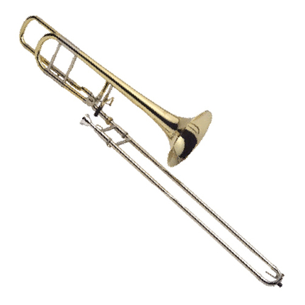 J.Michael TB700MO Tenor Bass Trombone (Bb) Clear Lacquer Finish