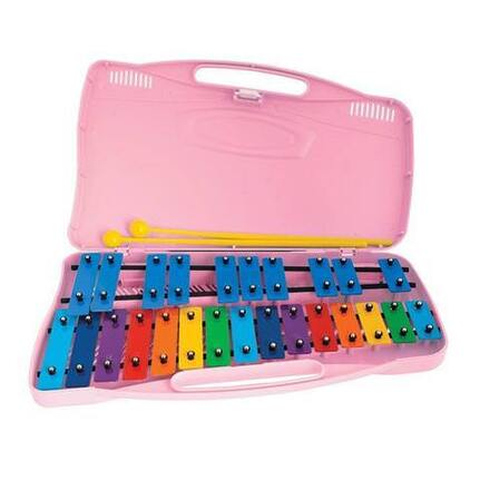 Angel AX25KP 25 Note Glockenspiel - Coloured Bars G4-G6