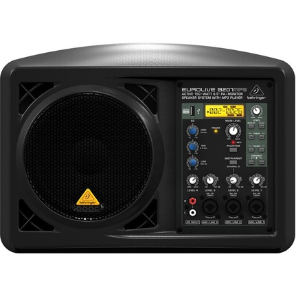 Behringer B207Mp3 Active 6.5In Speaker System
