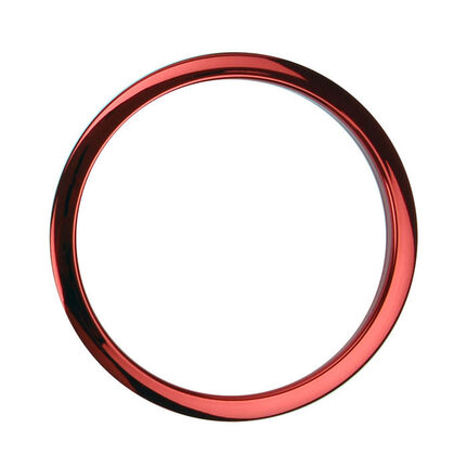 "Bass Drum O's Port Hole Ring - 5"" Red"