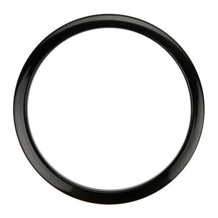"Bass Drum O's Port Hole Rings - 6"" Black (2 Pack)"
