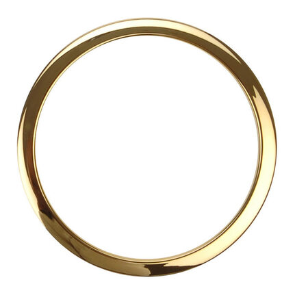 "Bass Drum O's Port Hole Rings - 6"" Brass (2 Pack)"
