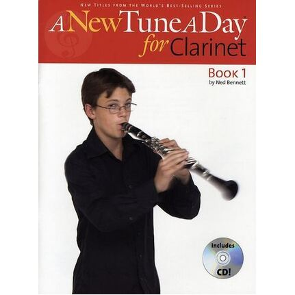 A New Tune A Day for Clarinet Book 1 BK/CD