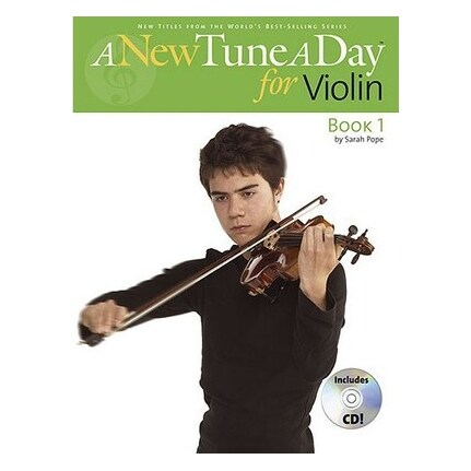 A New Tune A Day for Violin Book 1 BK/CD