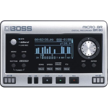 Boss Br80 Compact Mini Design Digital Multi-Track Recorder