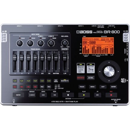 Boss Br800 8-Track Digital Recorder With Onboard Effects