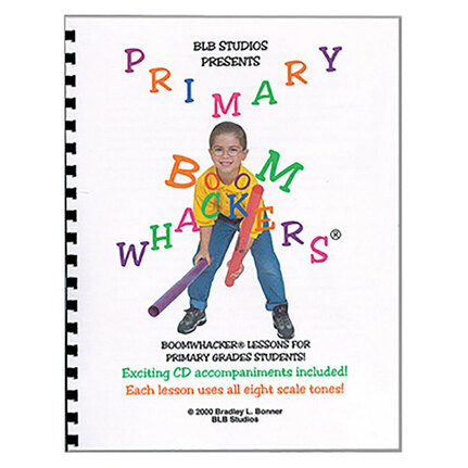 Boomwhackers BWBB107 Primary Beat Bag Book/CD