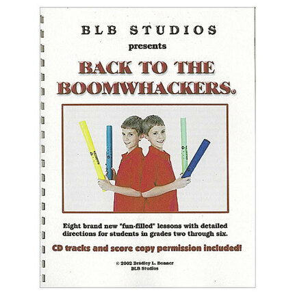 "Boomwhackers BWBB201 ""Back To Boomwhackers BWBB201"" Book/CD"