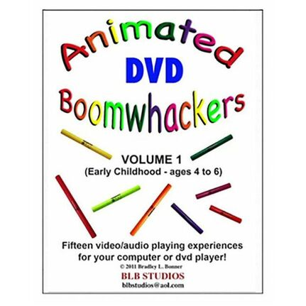 "Boomwhackers BWBB223 ""Animated Boomwhackers BWBB223 Volume 1"" DVD Only"