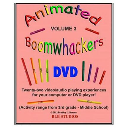 "Boomwhackers BWBB226 ""Animated Boomwhackers BWBB226 Volume 3"" DVD Only"