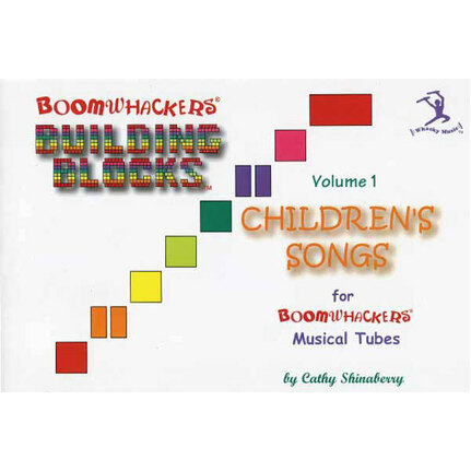 "Boomwhackers BWBV1T ""Building Blocks Childrens Songs Volume 1"" Book Only"