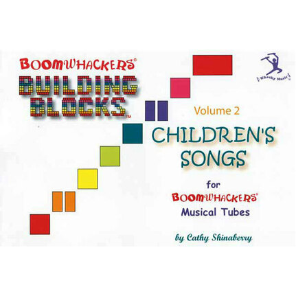 "Boomwhackers BWBV2T ""Building Blocks Childrens Songs Volume 2"" Book Only"
