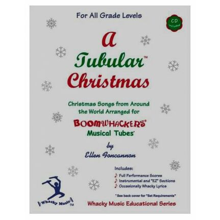 "Boomwhackers BWEFCH ""A Tubular Christmas"" Book/CD"