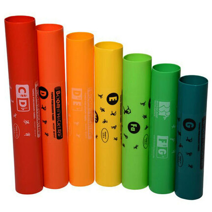 Boomwhackers BWEG 7-Note Treble Extension Set