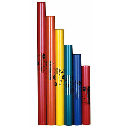 Boomwhackers BWPG 6-Note Pentatonic C-Major Scale Set