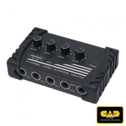 CAD Audio Ha4 Four Channel Stereo Headphone Amplifier