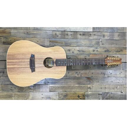Cole Clark CCFL2E-12-BLBL Fat Lady 2 Acoustic-Electric 12-String Guitar Blackwood Top