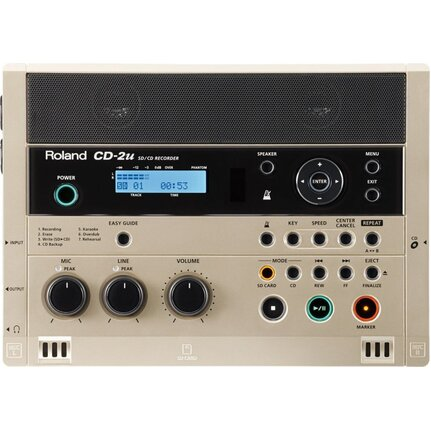 Roland CD-2U SD/CD Digital Recorder With CD Burner