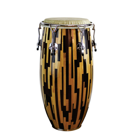 "A Tempo Percussion Jaspe Dos Tonos Series 11-3/4"" Conga in Gloss Finish"