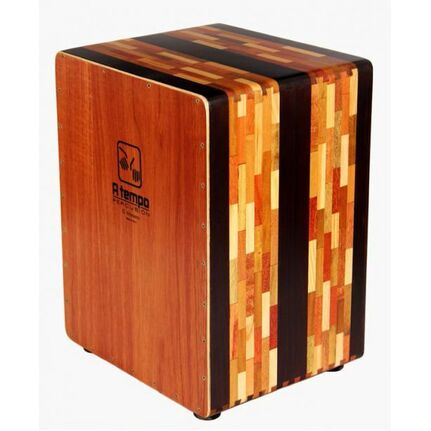 A Tempo Percussion CJELART01 El Artesano Cajon in Natural Gloss Finish