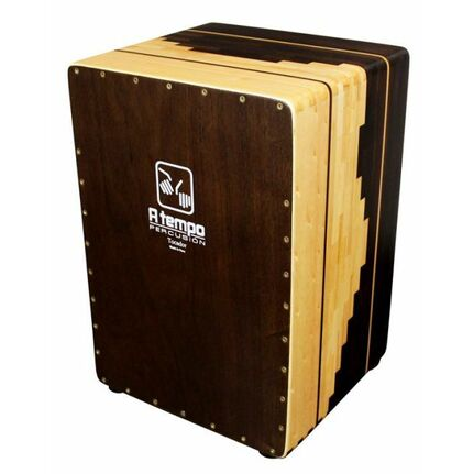 A Tempo Percussion Tocador Original Series Cajon in Escalonado Pattern