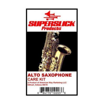 Superslick Alto Saxophone Care Kit