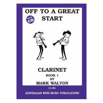 Off To A Great Start Clarinet Bk1 Bk/Cd